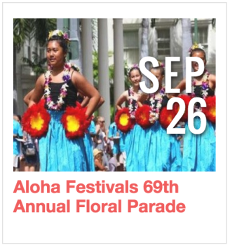 Aloha Festivals 69th Annual Floral Parade