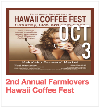 Hawaii Coffee Fest