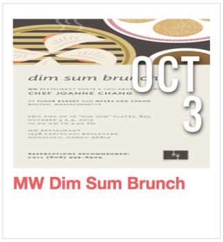 MW Dim Sum Brunch