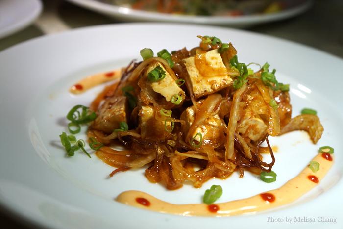 Tofu poke, $7.