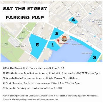 Eat the Street Parking Map