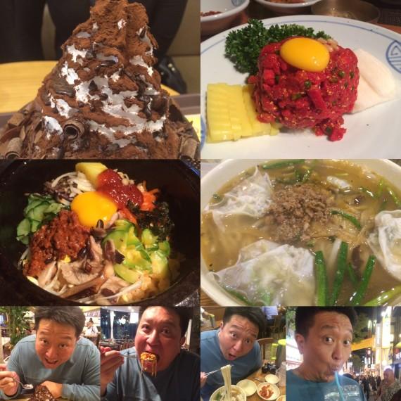 Eating my way through Myeongdong