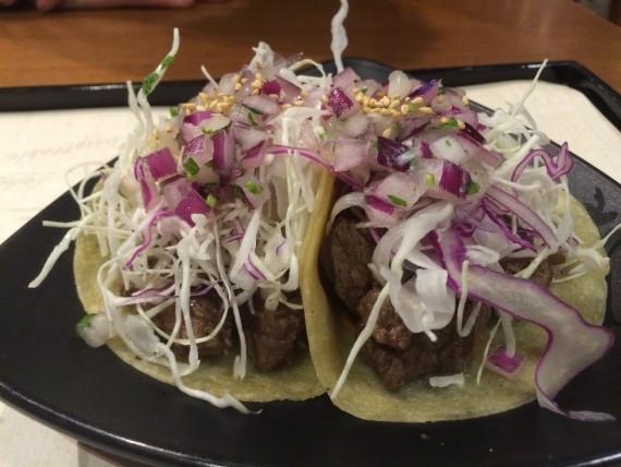 Korean Mexican tacos