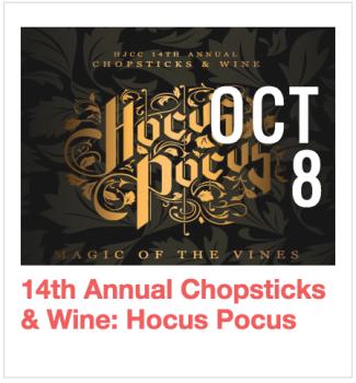 Chopsticks and Wine: Hocus Pocus