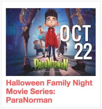 Halloween Family Night Movie Series: ParaNorman