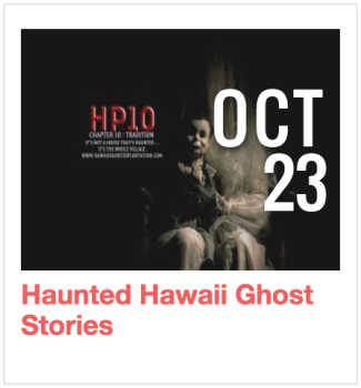 Haunted Hawaii Ghost Stories
