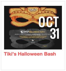 Tiki's Halloween Bash
