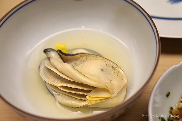 Steamed oyster in a light yuzu broth.