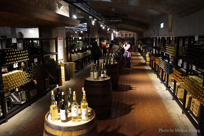 Self-pouring wine cave at Budo no Oka.