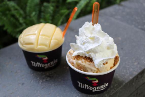 Nitrogenie ice cream