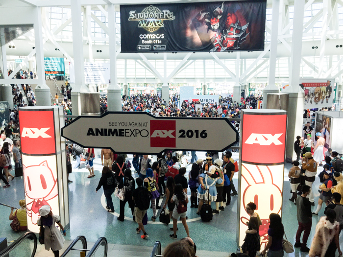 Anime Expo attracted over 90,000 lovers of anime, and Japanese culture this year.