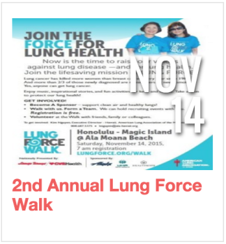 2nd Annual Lung Force Walk