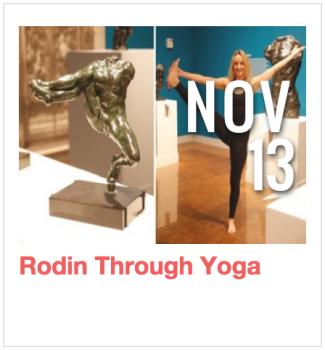 Rodin through Yoga