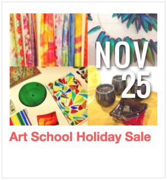 Art School Holiday Sale