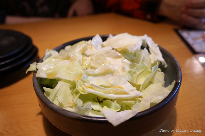 You can have as much shio goma cabbage salad as you want. Only Futago on Kapahulu serves this in Hawaii. Why?