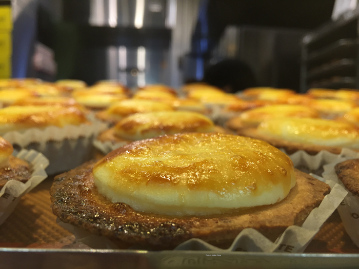 The Bake cheese tart.