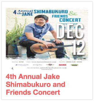 Jake Shimabukuro and Friends Concert