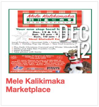 Mele Kalikimaka Marketplace