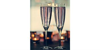 Azure champagne