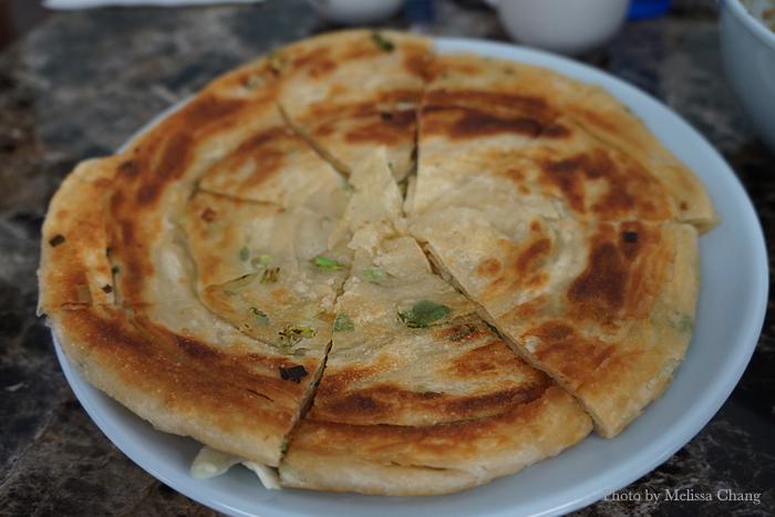 Green onion pancake, $4.50.