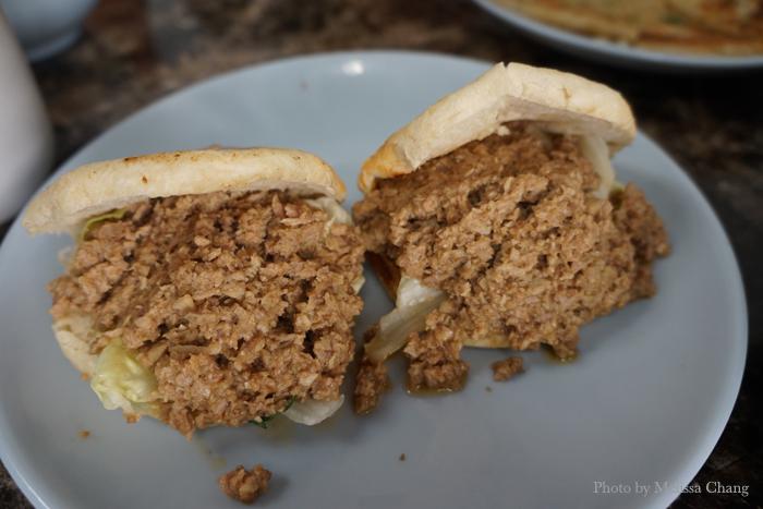 Chinese chicken or pork sandwich, $4.50 each.