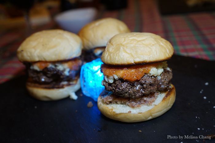 Kobe burger sliders, $15.