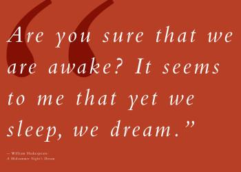 Dream Aria - Quote