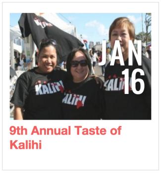 9th Annual Taste of Kalihi