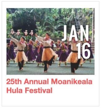 25th Annual Moanikeala Hula Festival