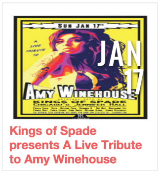 Kings of Spade presents A Live Tribute to Amy Winehouse
