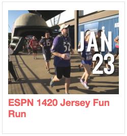 ESPN 1420 Jersey Fun Run