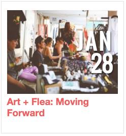 Art + Flea: Moving Forward