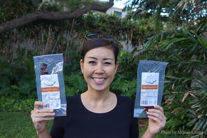 Min Tuyay brought me some of their jerky to try.