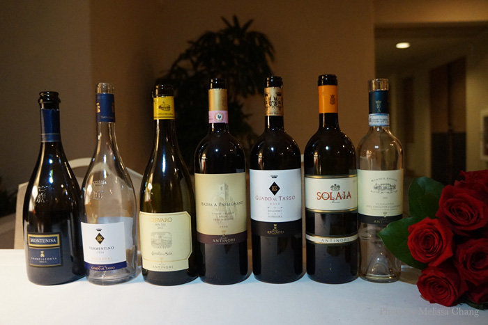 The wines for the night (which I'll list with each dish).