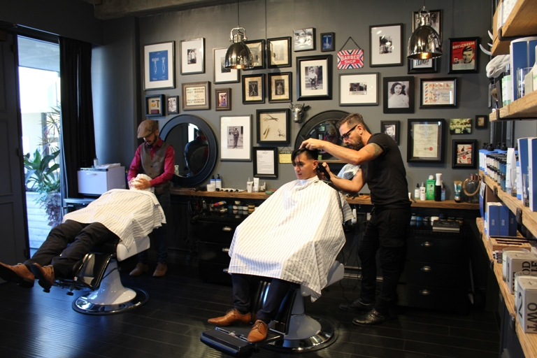 Male grooming just got one more option phil s barber shop for The barbershop a hair salon for men