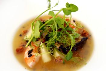 MW Restaurant - Seafood Flan