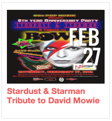 Stardust & Starman Tribute to David Bowie