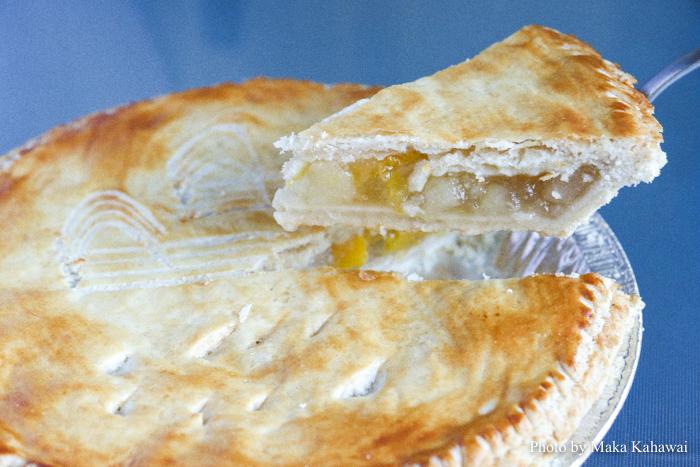 Sunnyside's peach pear pie