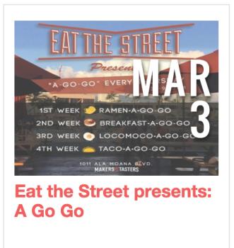 Eat the Street A Go Go Thursdays
