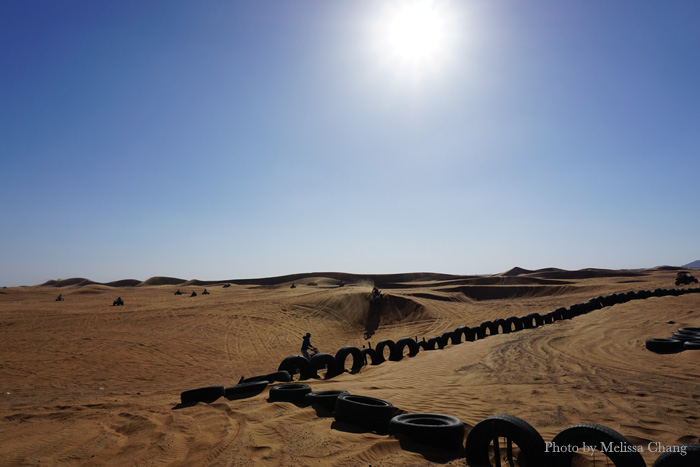 Quad biking and dune buggies in Dubai.