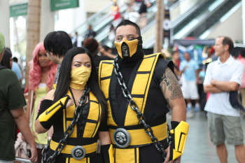 Scorpion from Mortal Kombat. But which one is real?
