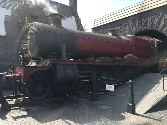 Get ready to board the Hogwarts Express at Platform 9 and 3/4