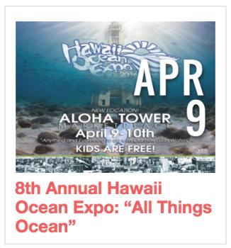 8th Annual Hawaii Ocean Expo