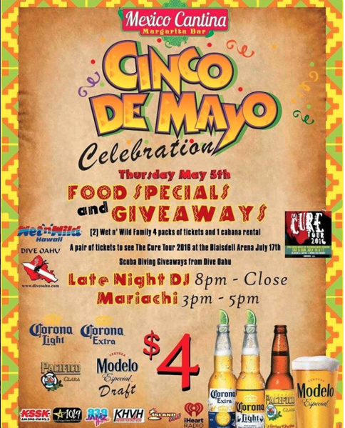 What's Happening: Cinco De Mayo 2016