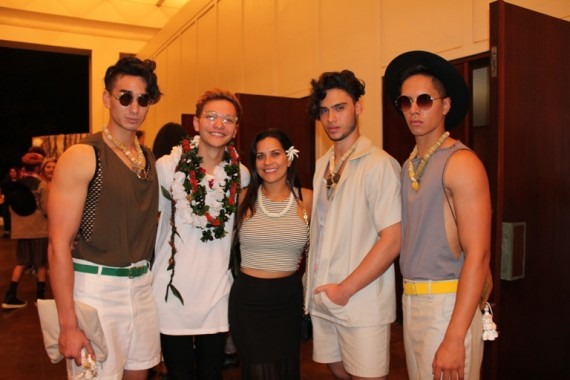 Future Designers At Uh Manoa S 50th Student Fashion Show Frolic Hawaii