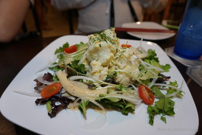 Fujiyama salad.