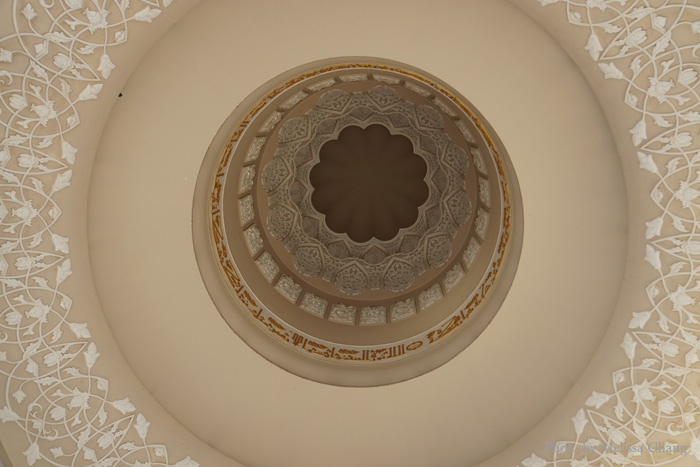 The lettering in the domes are so ancient and intricate, that many people cannot read them.