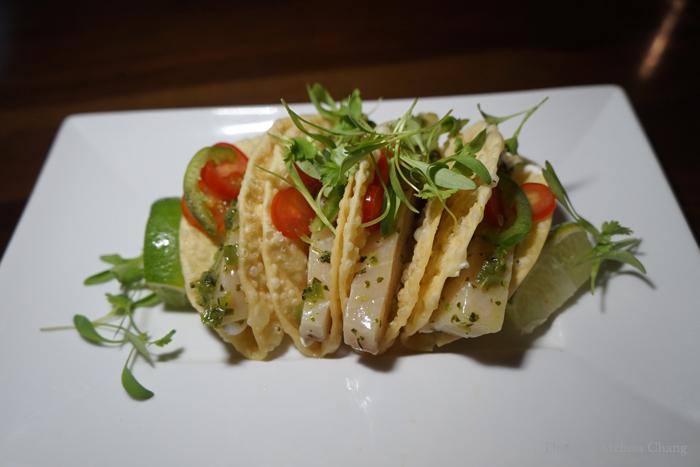 Hamachi tacos, $8.