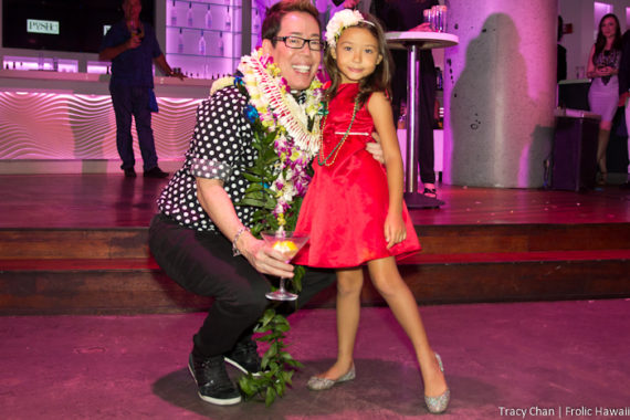 Birthday kids Russell Tanoue and Sky Rea.