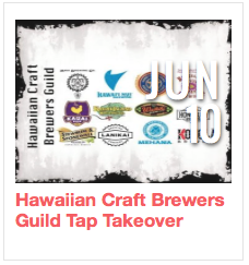 Hawaiian Craft Brewers Guild Tap Takeover
